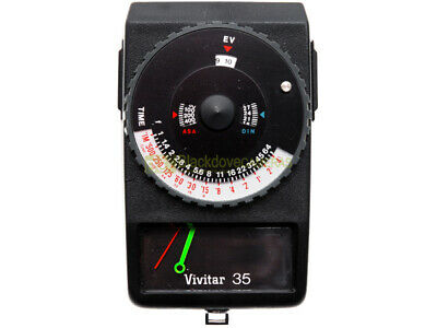 Esposimetro analogico Vivitar 35. Funzionante. Exposure meter. Vintage.