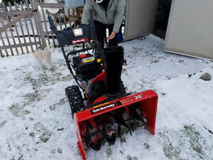 2016 Snow Blower for sale