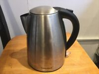 Morphy Richards silver Electric kettle