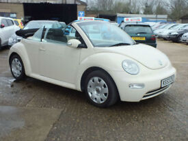 Volkswagen Beetle Convertible 1.9TDi Warranty & Delivery available Px welcome