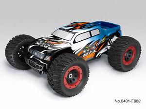 Thunder Tiger 6401-F112 RC Car Monster Truck MT4-G3 Brushless Blue RTR