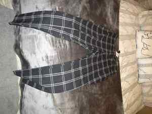 Brand New Le Chateau Plaid Slim Pants