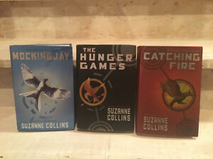 Hunger games catching fire mocking jay hard cover books