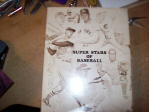 Super Stars Of Baseball written and autographed by Bob Broeg London Ontario image 1