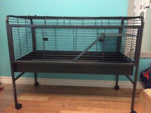 Cage en métal pour gros rongeur (Chinchilla, lapin...)