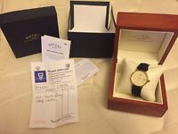 Rotary gold watch men 9ct