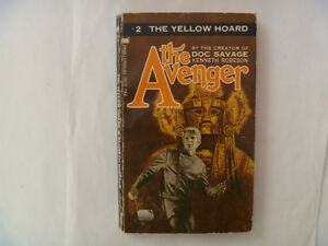 THE AVENGER (#s 2, 4 & 32) by Kenneth Robeson - Paperbacks
