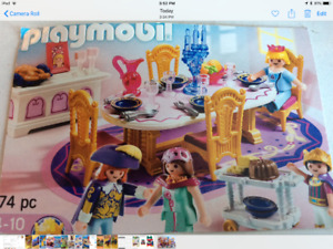 Play mobile dinning room table set