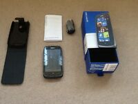 Nokia 610, case, charger, box, instructions and more, VGC