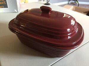Pampered Chef stoneware deep dish baker