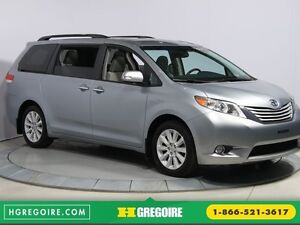 2013 Toyota Sienna LIMITED AWD CUIR TOIT NAV DVD MAGS