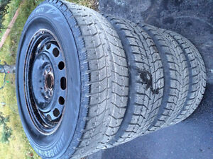 """Set of 16"""" Blizzak Winter tires and Wheels"""