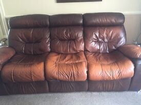 Sofa and chair leather