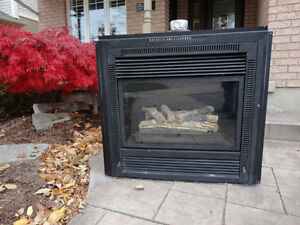 """Gas Fireplace Insert 38"""" x36"""" -Works Great Excellent Condition Kitchener / Waterloo Kitchener Area image 6"""