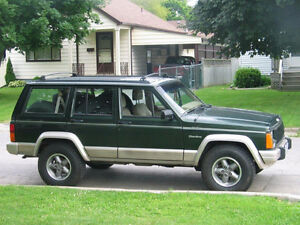 1996 Jeep Cherokee, from Florida / rebuilt engine / Certified