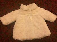 Girls coats 3-6 months