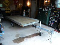 2003 Trail blazer Single skidoo or ATV Trailer galvanized tilts