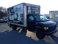 Ford 2005 Cube Truck - E350- Diesel