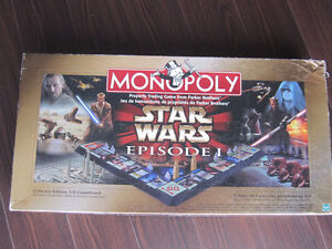 Monopoly - Star Wars Episode 1 Edition- Collector edition Peterborough Peterborough Area image 3