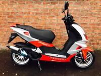 Peugeot Speedfight 4 50cc ride this scooter for only £12.83 a week