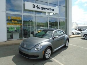 2014 VOLKSWAGEN BEETLE 1.8 Turbo w/ Sunroof! VW CERTIFIED!