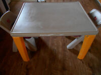 step2  lifestyle folding table and chair set.