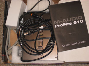 M Audio Profire 610 Firewire Audio Interface Belleville Belleville Area image 1