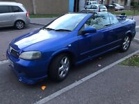 Vauxhall Astra coupe convertible 2004 full leather long mot needs attention