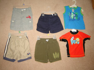 Shorts, Red Tab Levi Overalls, Pj's & More - 24m, sz 2, 3