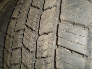 four brand new michelin ltx 245 75 17 10 ply tires on 6 bolt