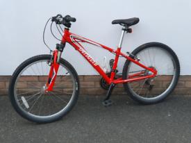 """Specialized Hotrock - Red - 24"""" wheel"""