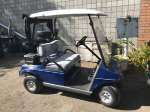 GAS GOLF CART - CLUB CAR