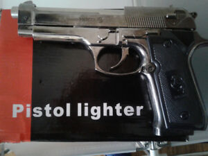 PISTOL LIGHTER for sale  brand new in box,