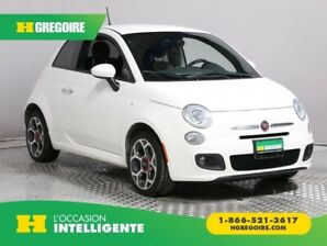 2016 Fiat 500 Sport AUTO A/C GR ELECT CUIR MAGS BLUETOOTH