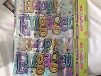 Engagement foil banner BRAND NEW