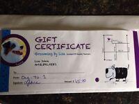 Grooming Gift Certificate