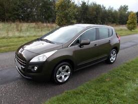 2010 Peugeot 3008 Crossover Sport 1.6 VTi. Manual. Petrol. ONLY 52K, 5 SEATS