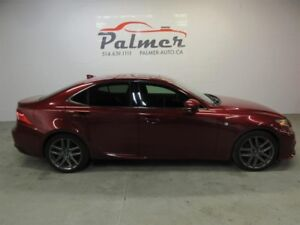 Lexus IS 250 F SPORT PKG AWD BELLE VOITURE 2014