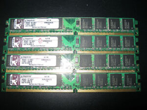 Kingston 2GB DDR2 6400U desktop RAM memory sticks