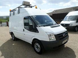 2011 Ford Transit 115 T350 Works, Maintenance, Utility Van, Internal Racking