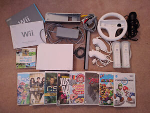 Nintendo Wii (With games and accessories!)