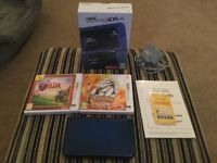 Metallic Blue Nintendo 3DS XL