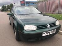 VOLKSWAGEN GOLF 1.6 SE 5DR 1 OWNER VERY CLEAN CHEAP TO RUN BARGAIN