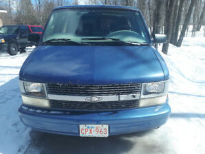 1997 Chev Astro Passenger for sale.