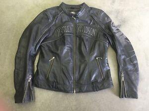 Large Harley Davidson Reflective Riding Jacket