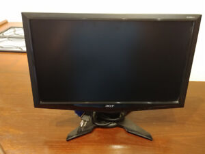 """Asus G185HV 18.5"""" Widescreen LCD Monitor"""