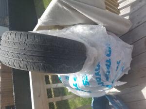 4 pneus d'été Farroad   à vendre