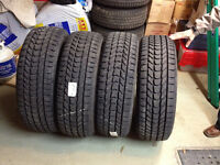 Winter Tires 275/65/20 M+G with STUDS Almost NEW