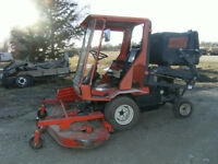 Kabota Diesel with front mount mower