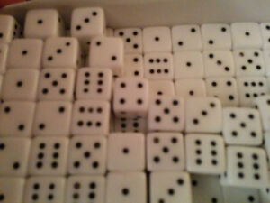 Original Greek 6mm Dice For Backgammon Made From Animal Bone